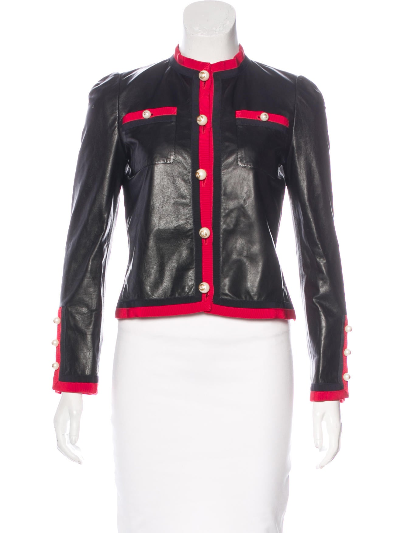 Gucci 2017 leather jacket clothing guc141695 the for Leather jacket and shirt