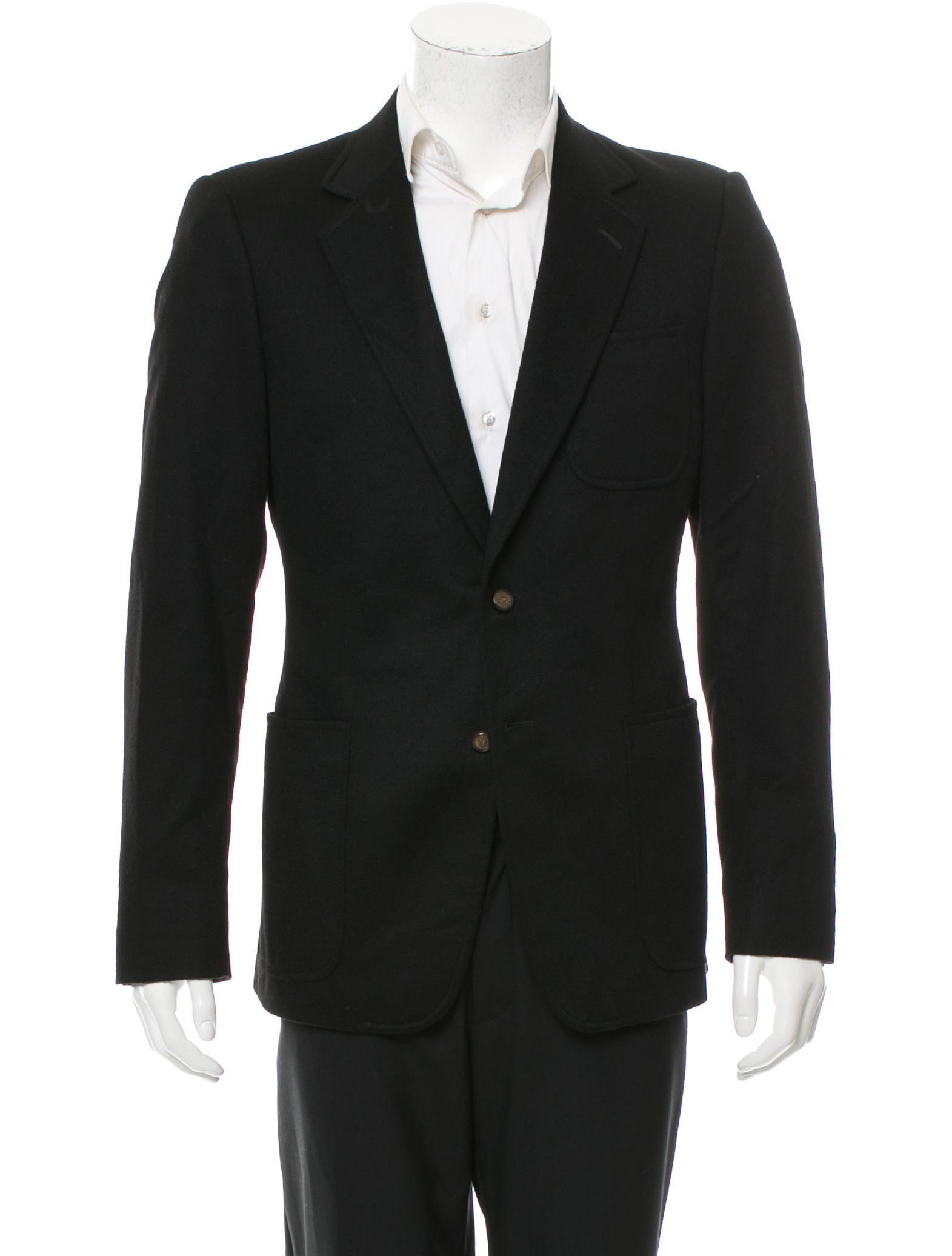 Gucci Two-Button Cashmere Sport Coat - Clothing - GUC141887 | The RealReal