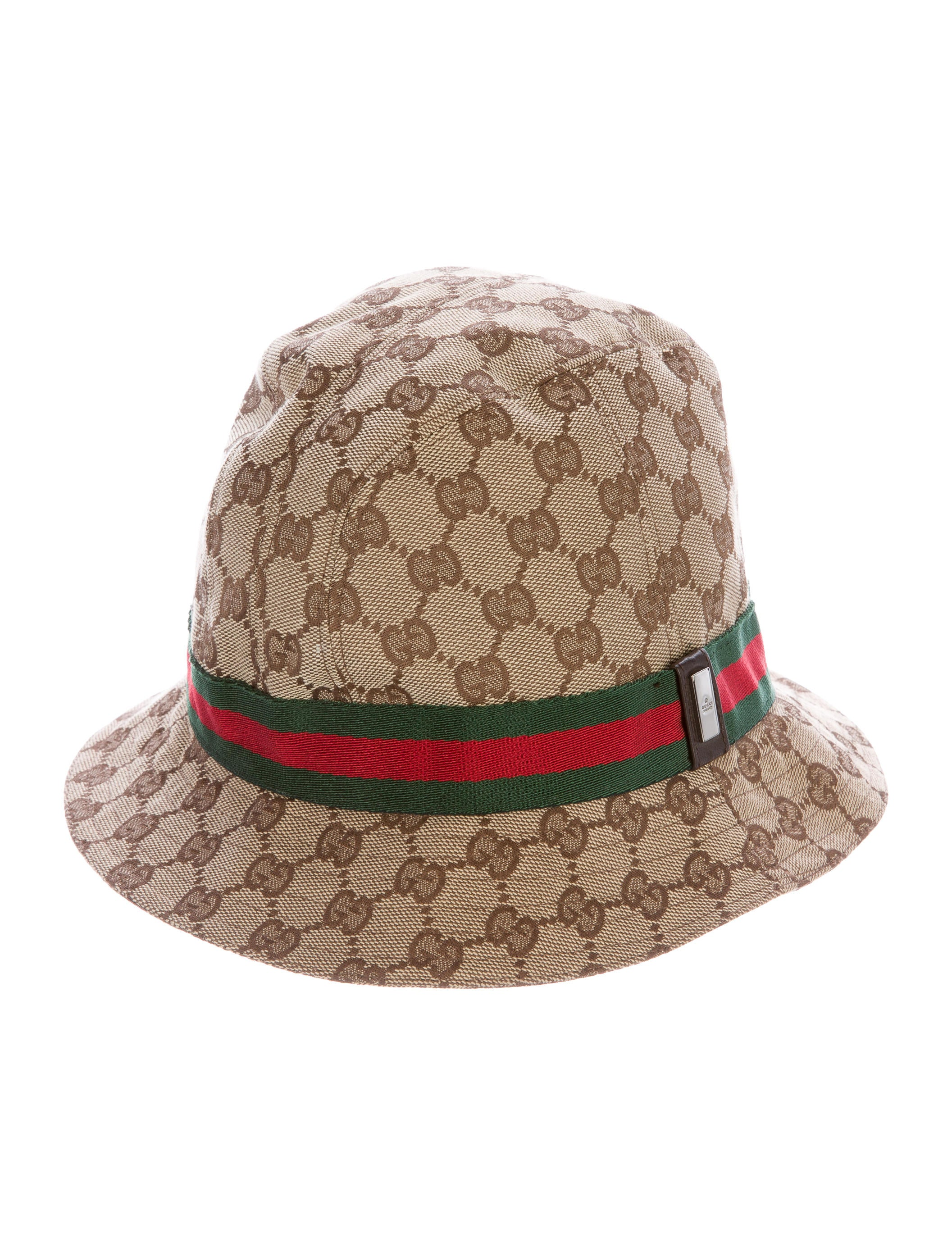 gucci gg web bucket hat accessories guc141920 the realreal. Black Bedroom Furniture Sets. Home Design Ideas