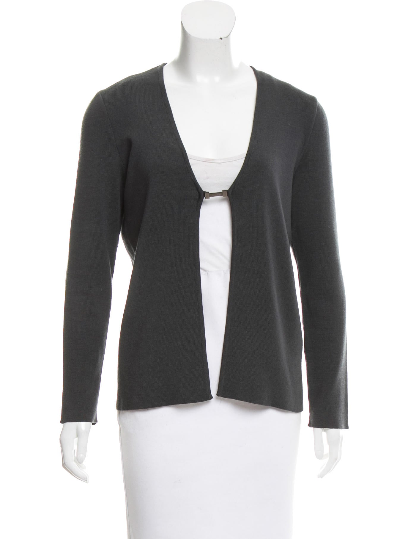 Gucci wool open front top clothing guc142552 the for Best wool shirt jackets