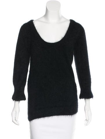 Gucci Textured Angora Sweater None