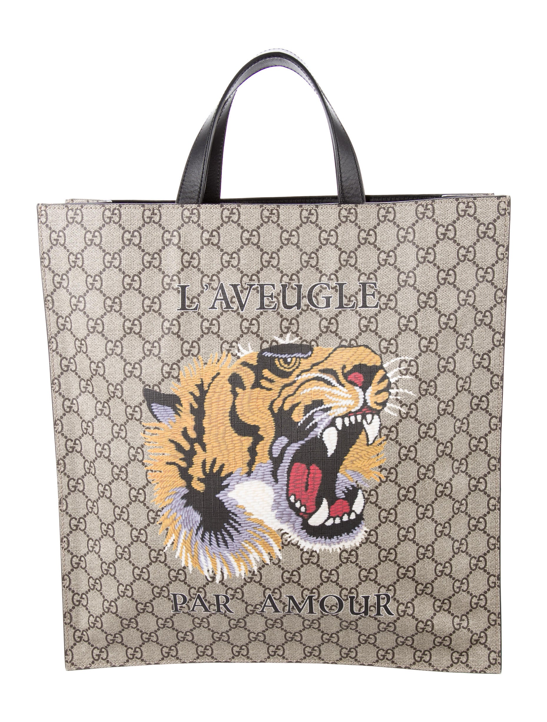 2858439fb930 Gucci Tote With Tiger | Stanford Center for Opportunity Policy in ...