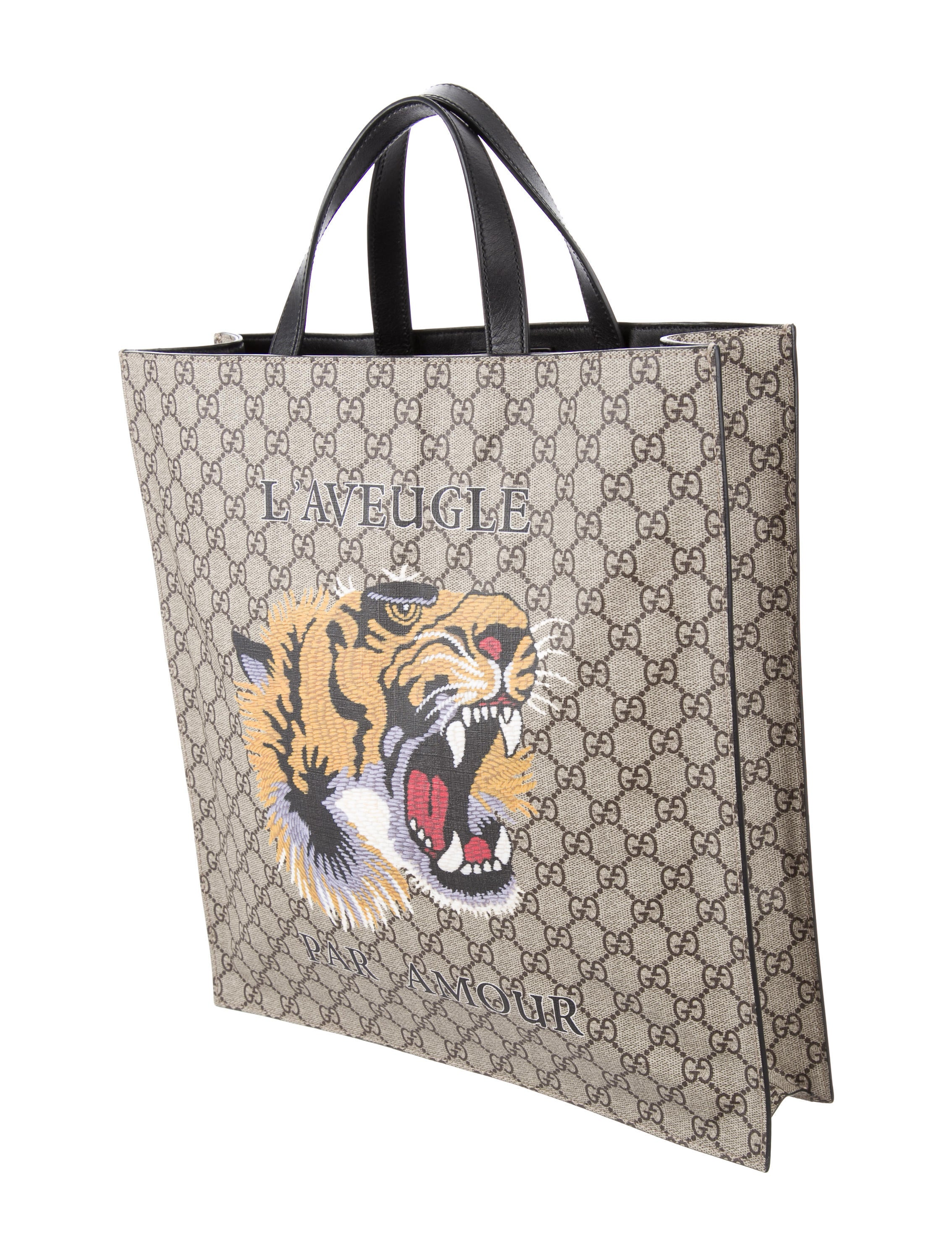 3a43c53b820d1f Gucci Tote With Tiger   Stanford Center for Opportunity Policy in ...