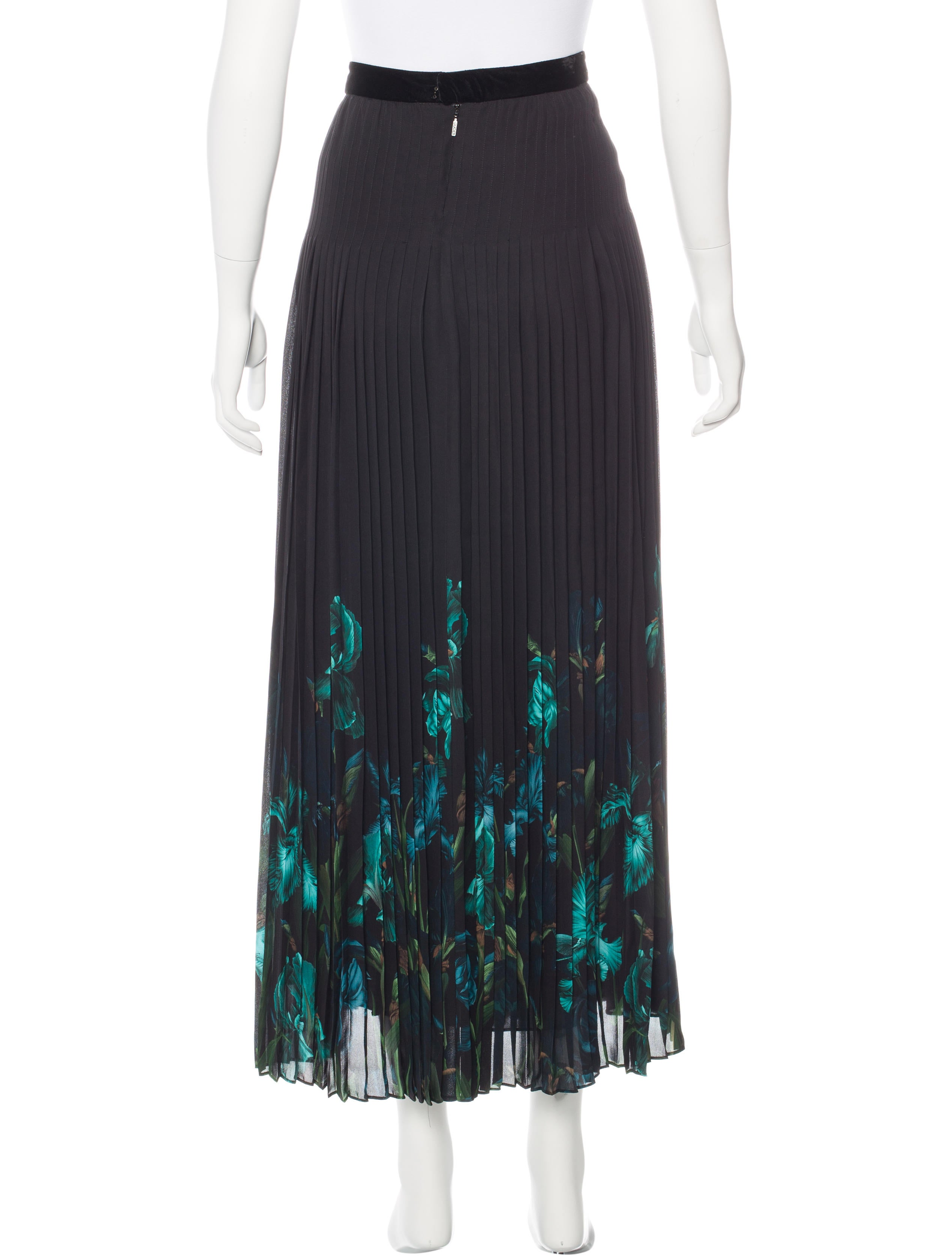 Gucci Silk Pleated Skirt - Clothing - GUC143513 | The RealReal