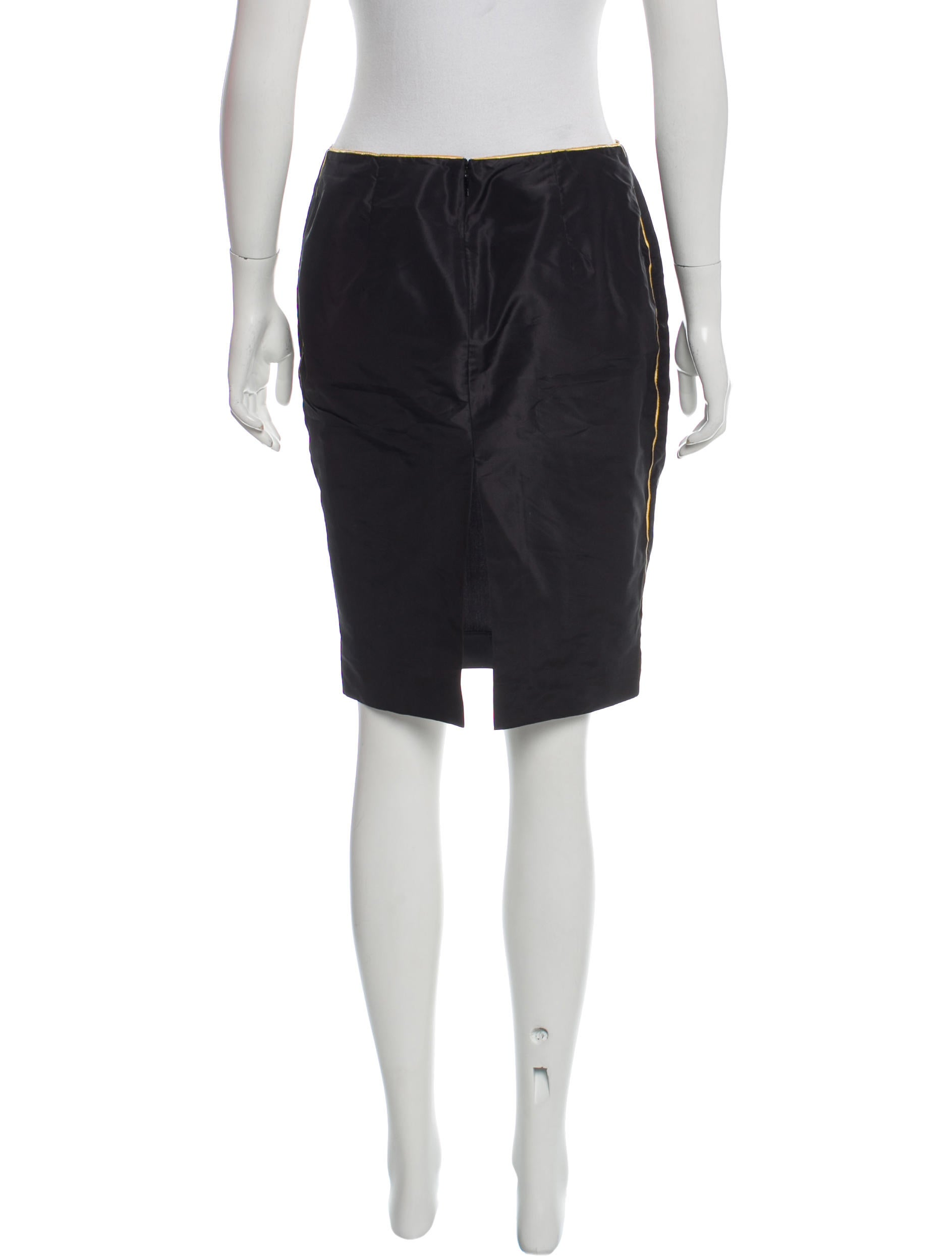 Gucci Silk Pencil Skirt - Clothing - GUC143570 | The RealReal