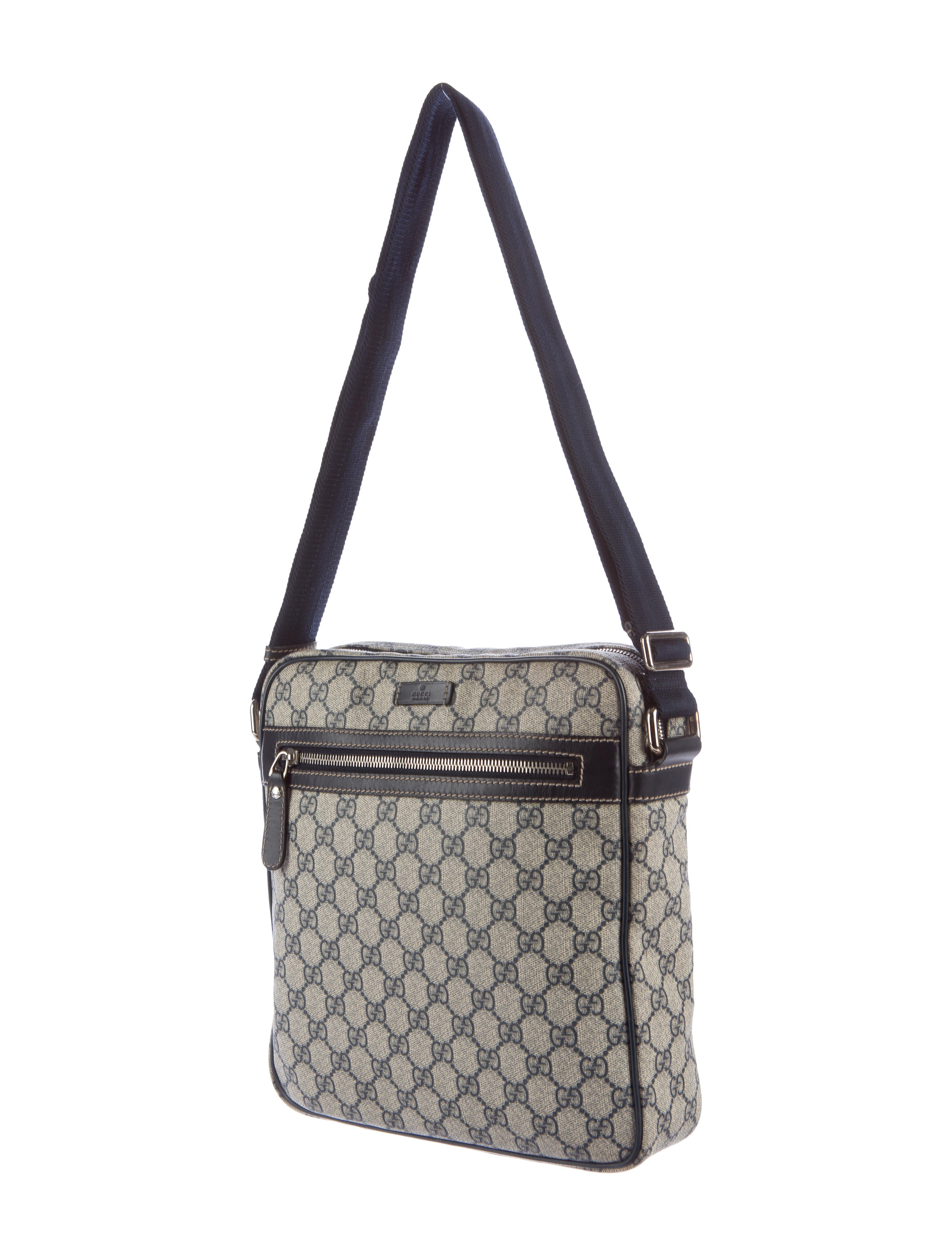 gucci gg plus messenger bag bags guc144332 the realreal. Black Bedroom Furniture Sets. Home Design Ideas