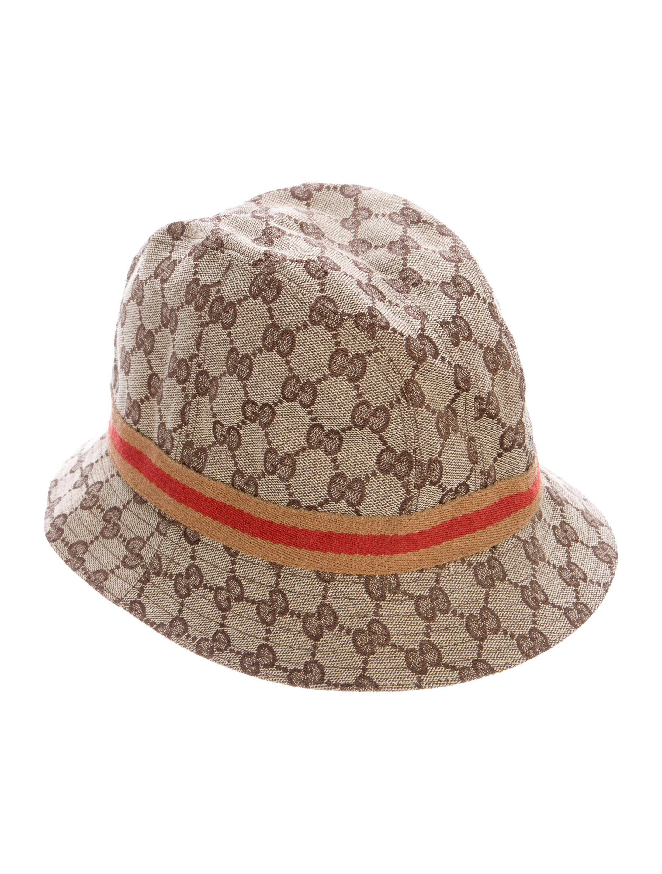 e8f1b8fc22f Gucci GG Web Bucket Hat - Accessories - GUC144856