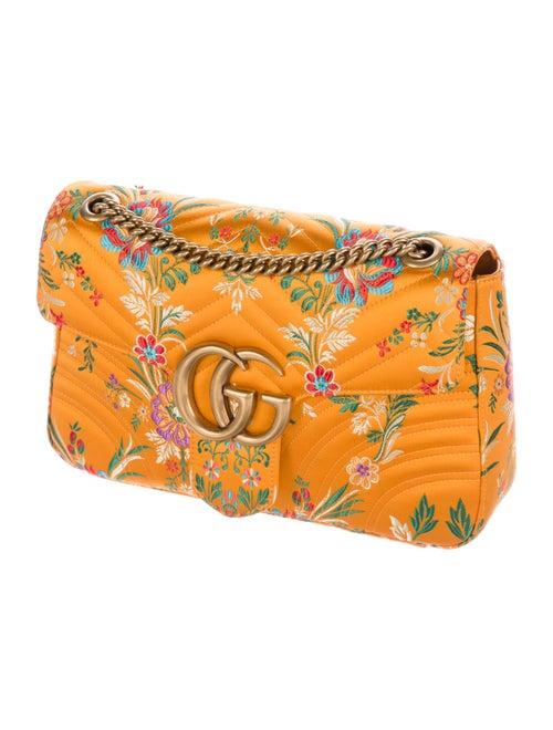 02d9d2e0fc9f Gucci Spring 2017 GG Marmont Floral Jacquard Shoulder Bag w/ Tags ...