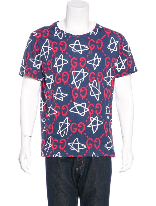 af1c985ee Gucci 2016 GucciGhost Star T-Shirt - Clothing - GUC145246 | The RealReal