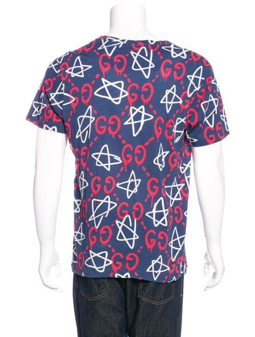 984a659e038 Gucci 2016 GucciGhost Star T-Shirt - Clothing - GUC145246
