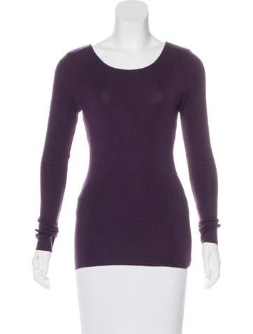 Gucci Wool Scoop Neck Sweater None
