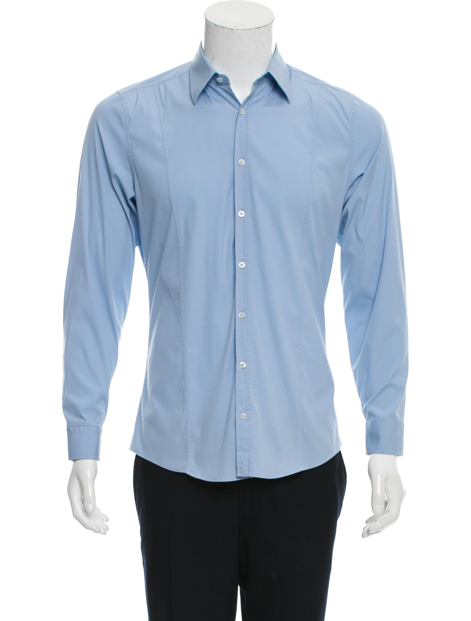 gucci slim fit button up shirt clothing guc146583