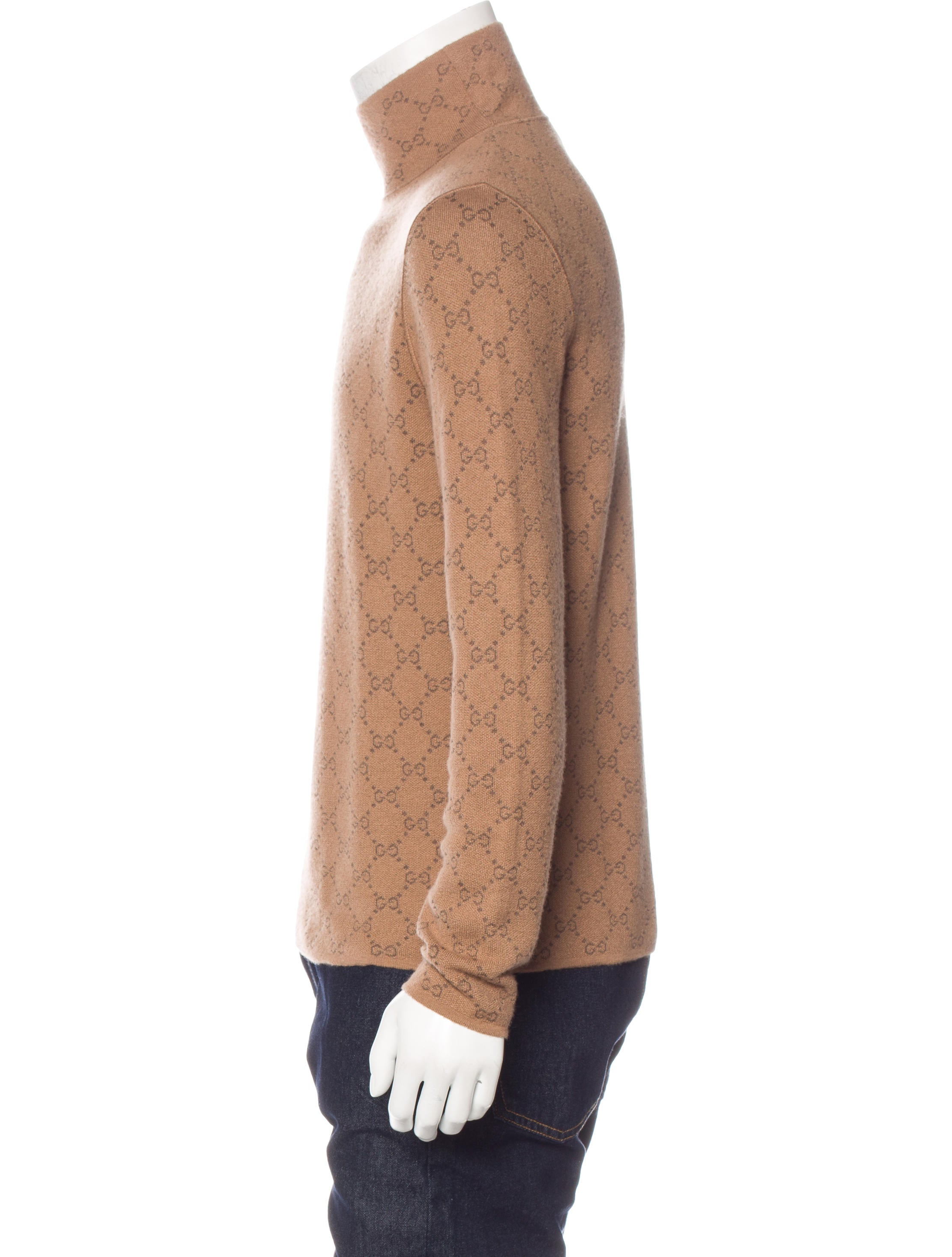 Gucci Cashmere Turtleneck Sweater - Clothing