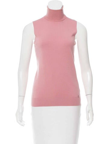 Gucci Sleeveless Knit Top None