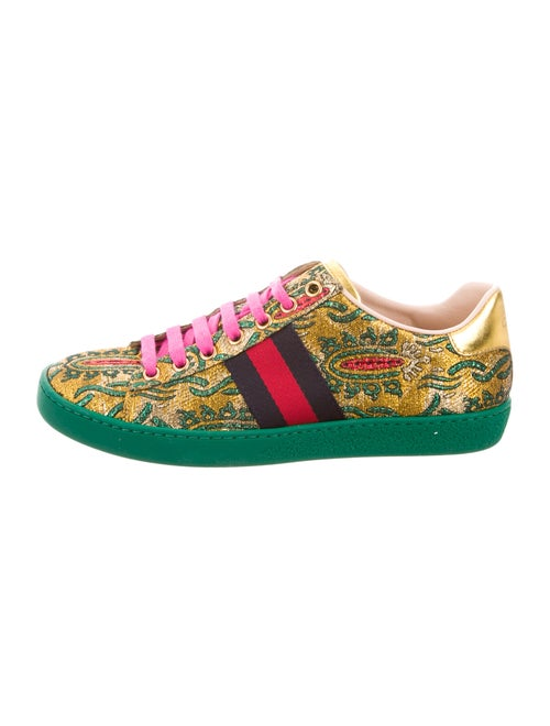 b06a4f064c2 Gucci 2017 Ace Brocade Sneakers - Shoes - GUC148412
