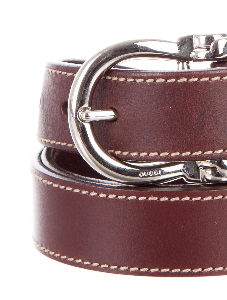 Gucci Horsebit Leather Belt - Accessories - GUC148938 ...