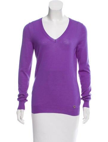 Gucci Cashmere V-Neck Sweater None
