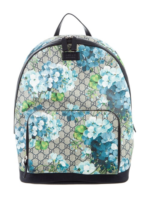 f06aba92d58114 Gucci GG Blooms Supreme backpack - Bags - GUC149766 | The RealReal