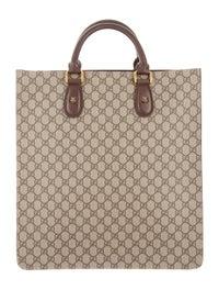 809a4a5e7 Gucci Web Animalier GG Supreme Tote - Handbags - GUC150108 | The ...