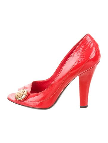Gucci Hysteria Peep-Toe Pumps None