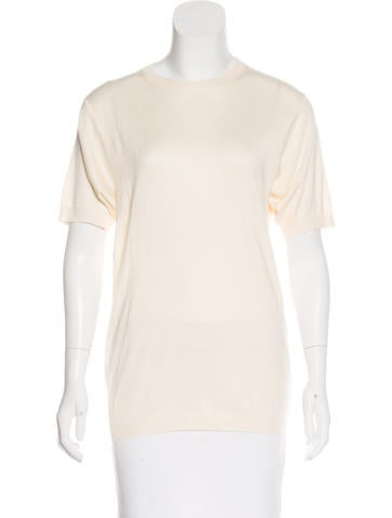 Gucci Silk-Blend Knit Top None