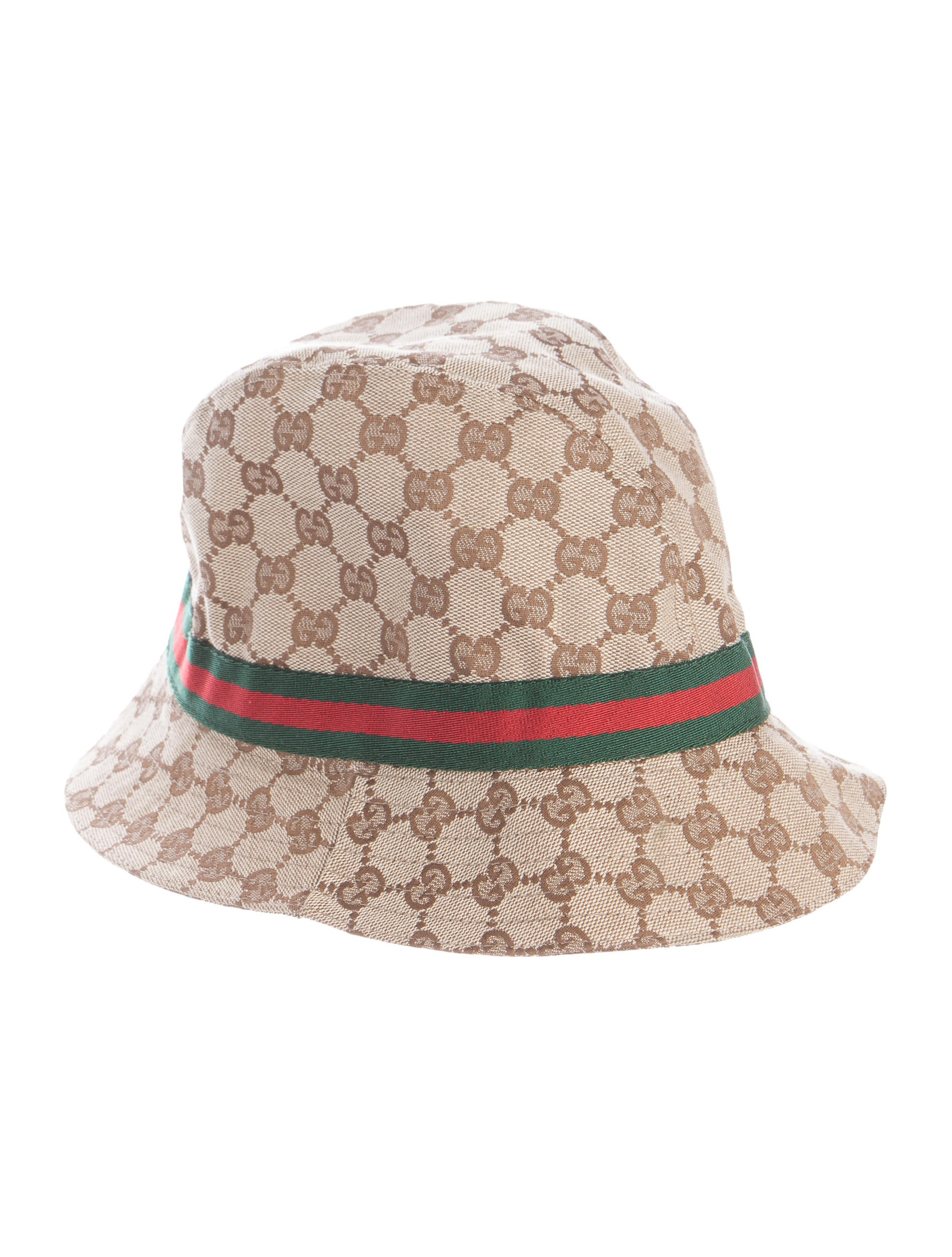 gucci gg web bucket hat accessories guc150864 the realreal. Black Bedroom Furniture Sets. Home Design Ideas