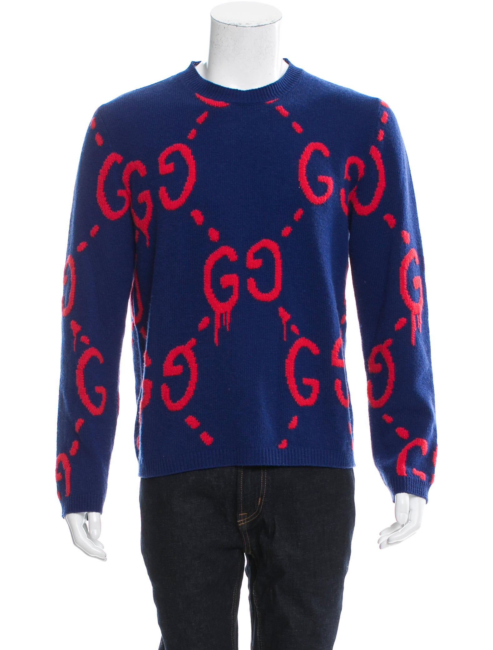 582a7fc9 Gucci GG Ghost Sweater - Clothing - GUC151525 | The RealReal