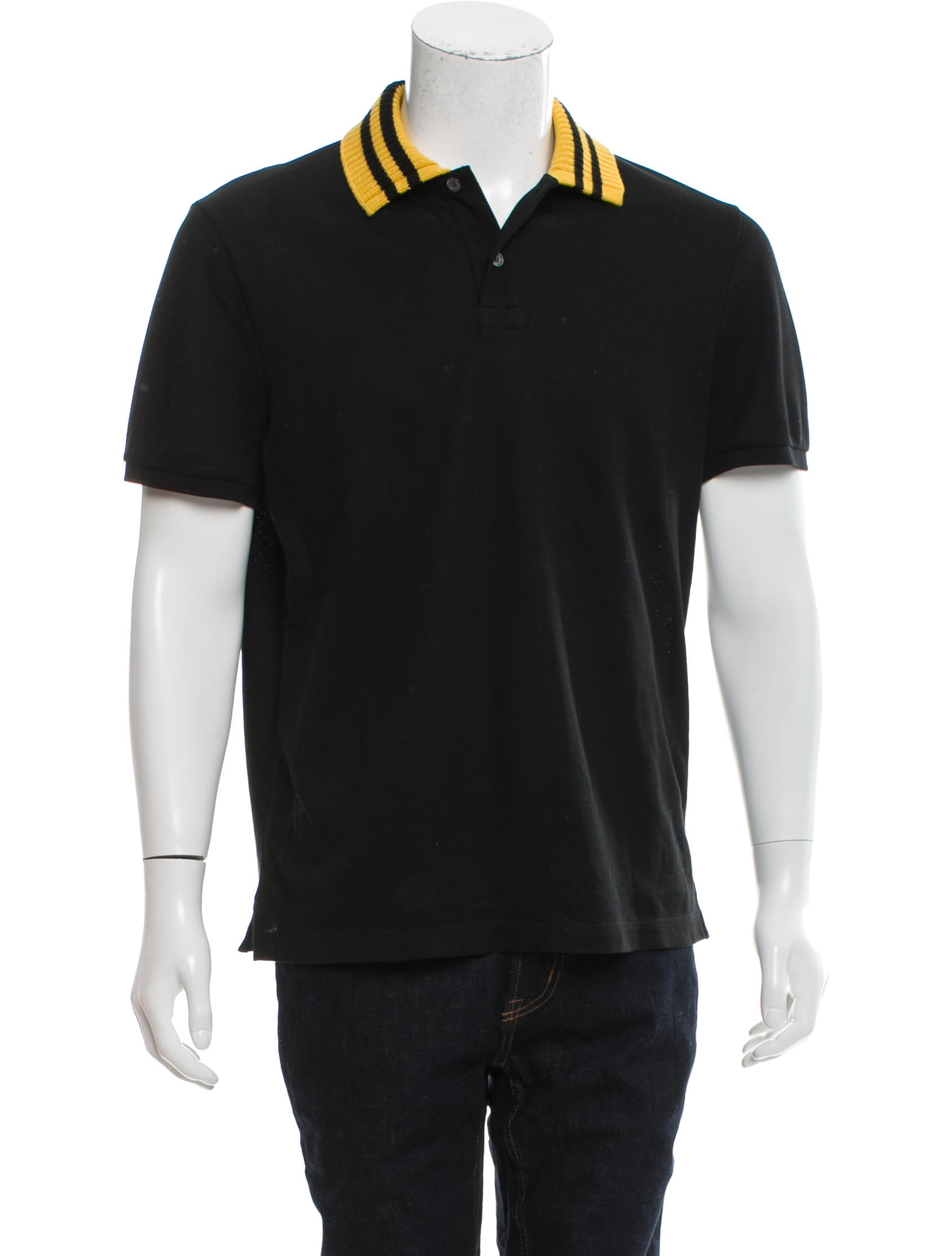 Gucci embroidered polo shirt clothing guc151575 the for Polo shirts with embroidery