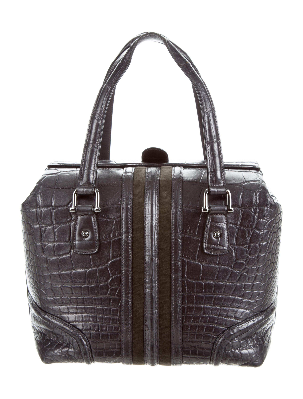 Boston Bag Patchwork Tutorial: Gucci Alligator Web Boston Bag
