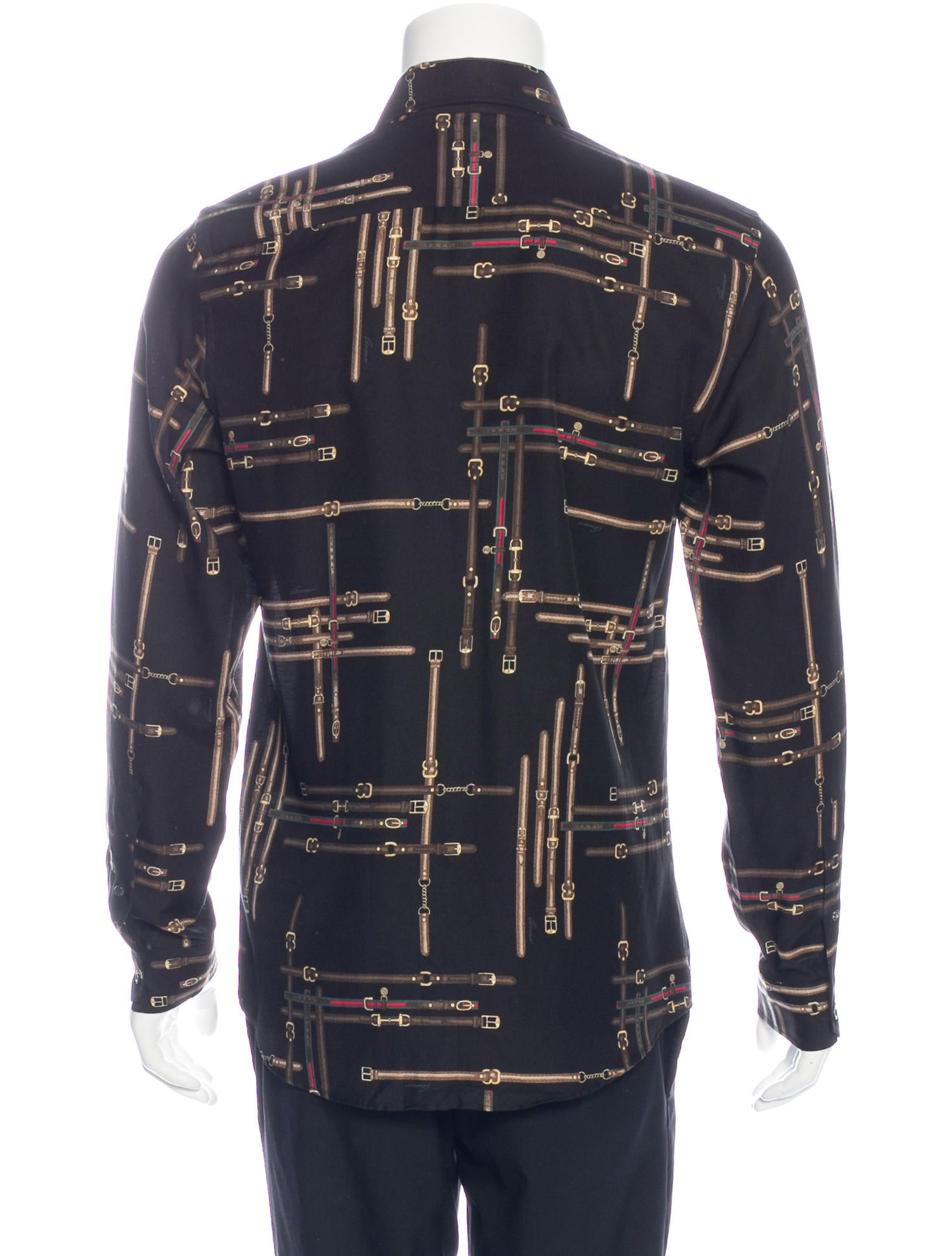 Gucci Stirrup Print Shirt - Clothing - GUC152688 | The RealReal