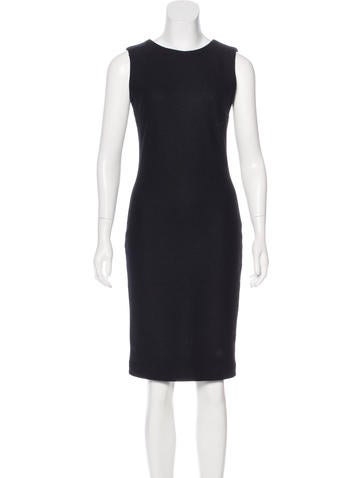 Gucci Sleeveless Wool Dress None