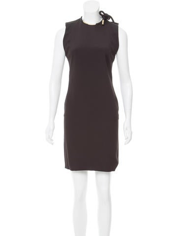Gucci Sleeveless Knee-Length Dress None