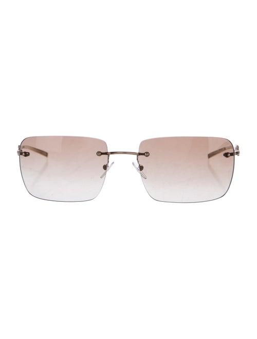 1c2edb775f6 Gucci Rimless Strass Sunglasses - Accessories - GUC153136