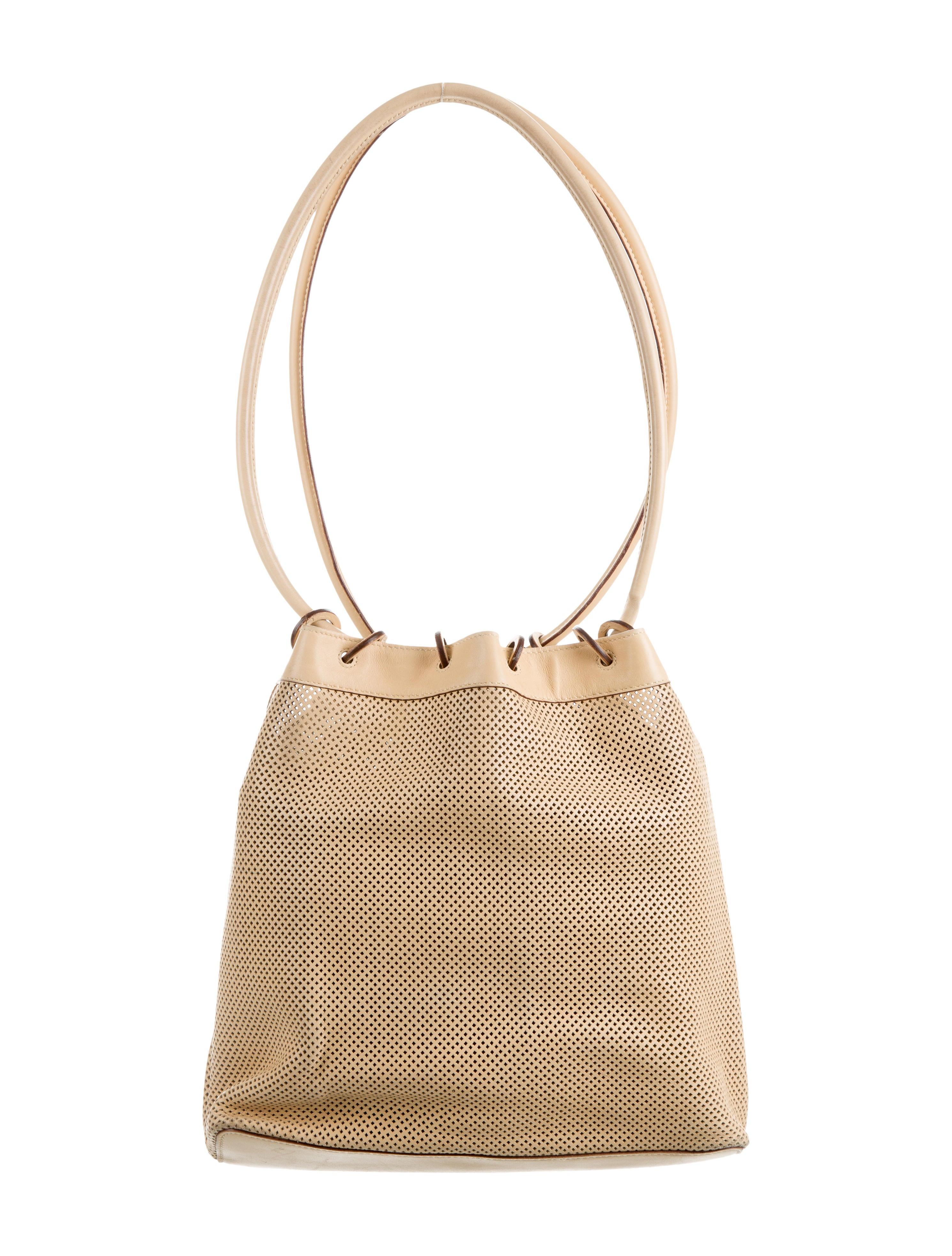 Gucci Perforated Bucket Bag Handbags Guc153172 The