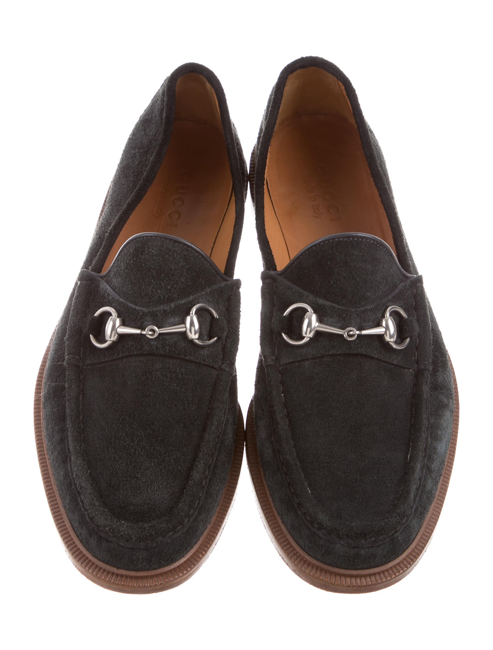 Gucci Suede Horsebit Loafers Shoes Guc153570 The