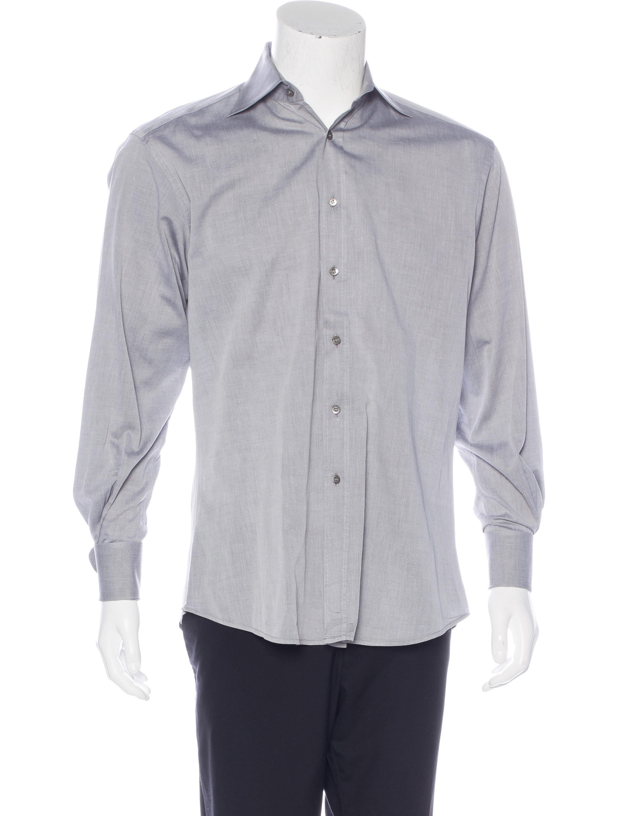 Gucci french cuff dress shirt clothing guc153576 the for Mens dress shirts with french cuffs
