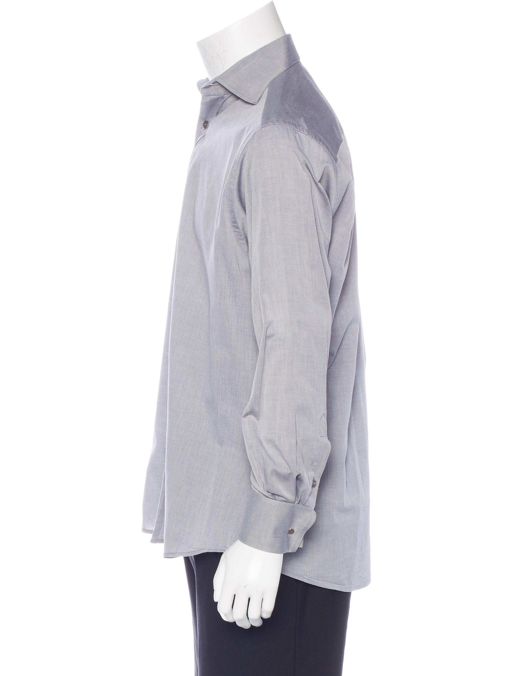 Gucci french cuff dress shirt clothing guc153576 the for Men french cuff dress shirts