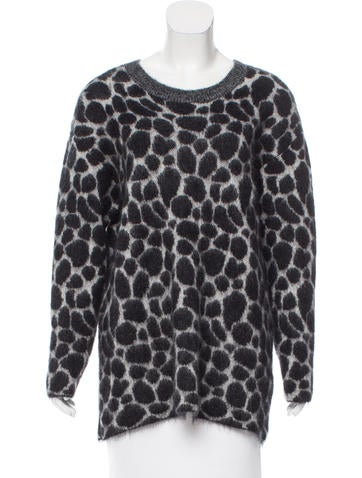Gucci Mohair Giraffe Sweater w/ Tags None