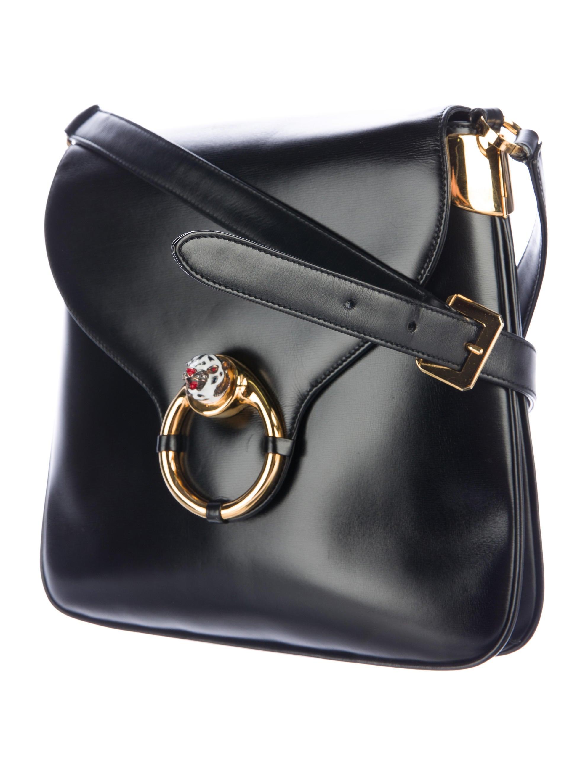 Vintage Leather Crossbody Bag 110
