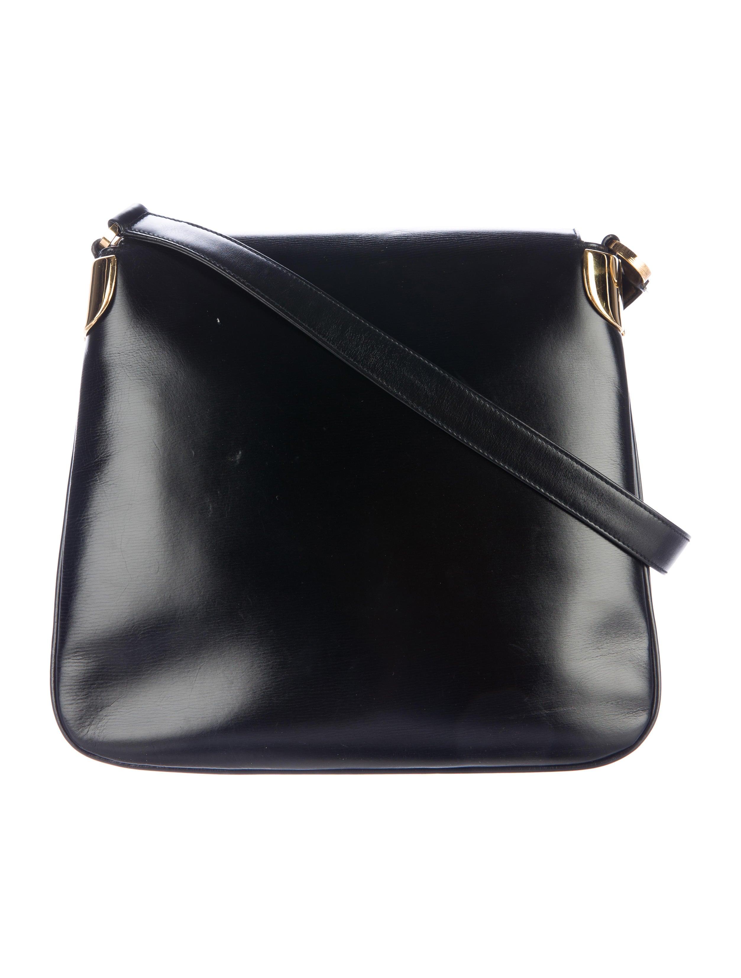 Vintage Leather Crossbody Bag 56