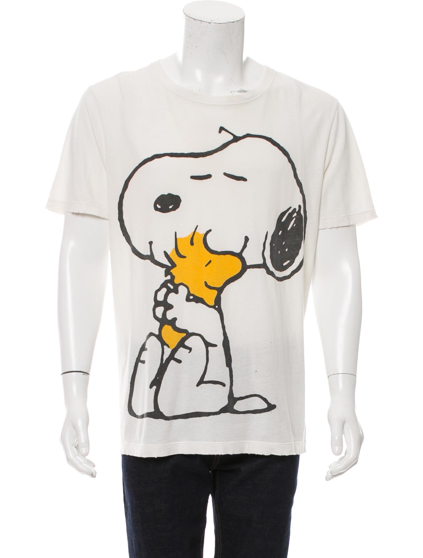 7657c4f596c Gucci 2016 Snoopy   Woodstock Print T-Shirt - Clothing - GUC153943 ...