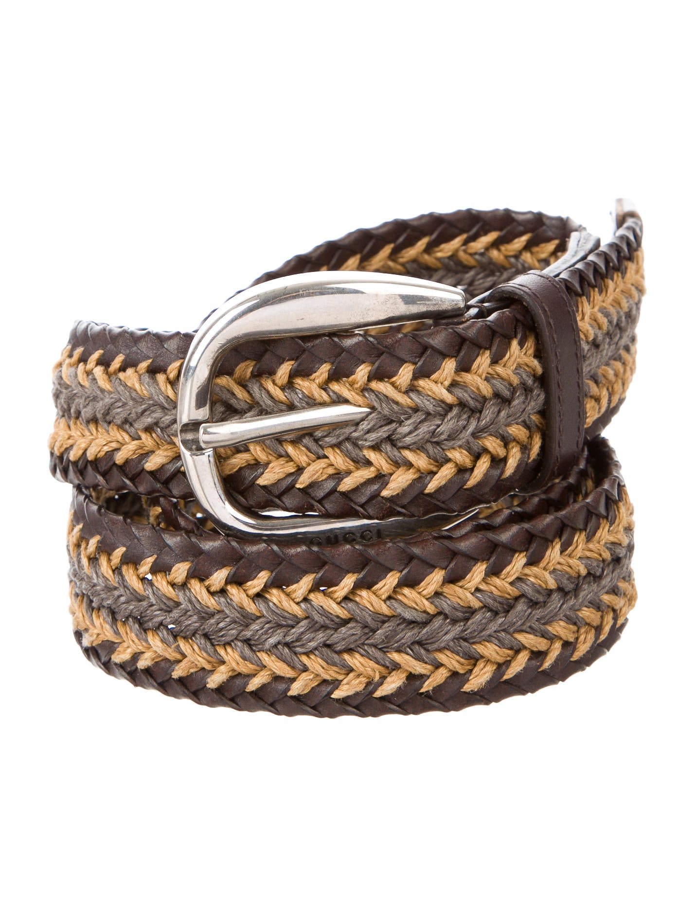 gucci woven leather belt accessories guc154501 the