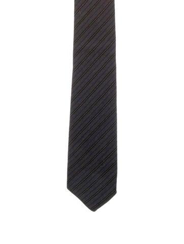Gucci Wool Striped Tie None