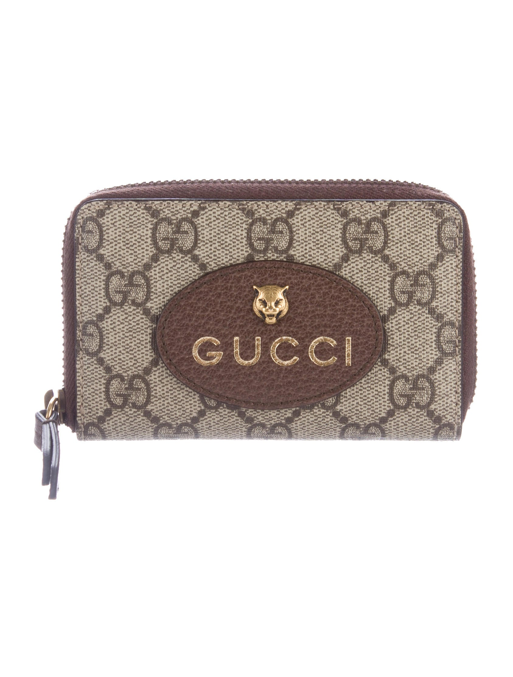 63d48ab534e7 Gucci 2017 Neo Vintage GG Supreme Card Case w/ Tags - Accessories ...