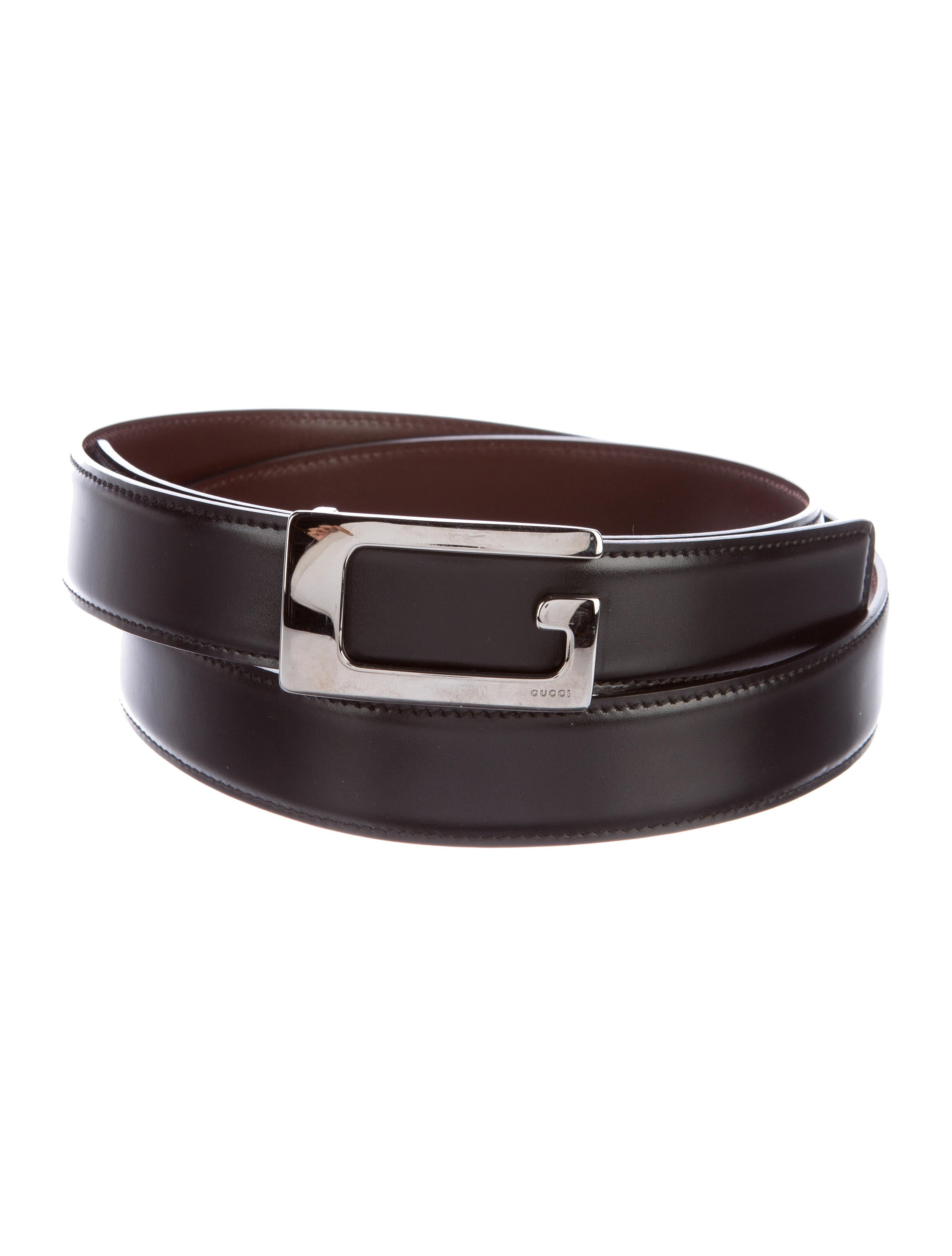 gucci reversible leather belt accessories guc155058