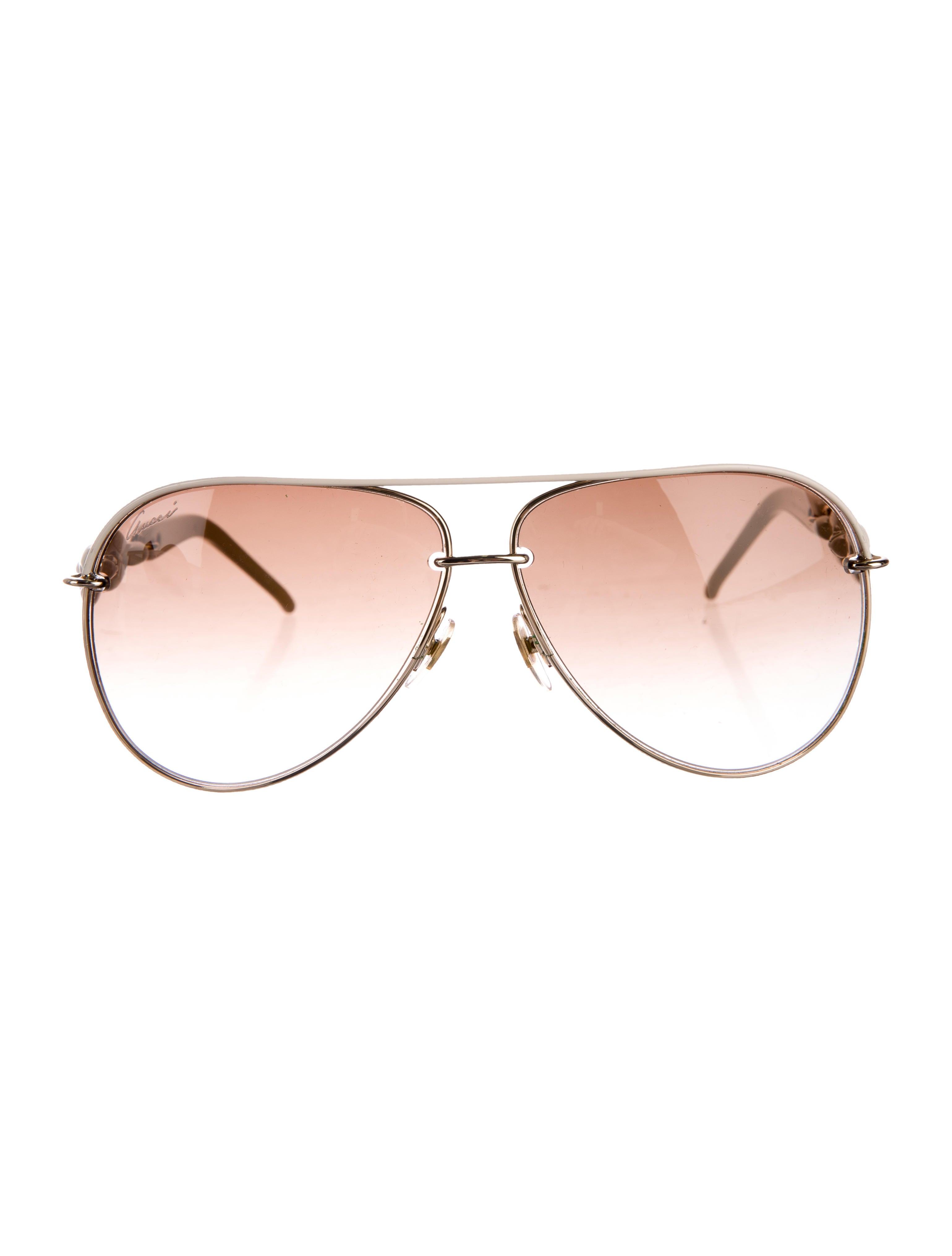 dd64371ea2e Gucci Gradient Aviator Sunglasses - Accessories - GUC155073