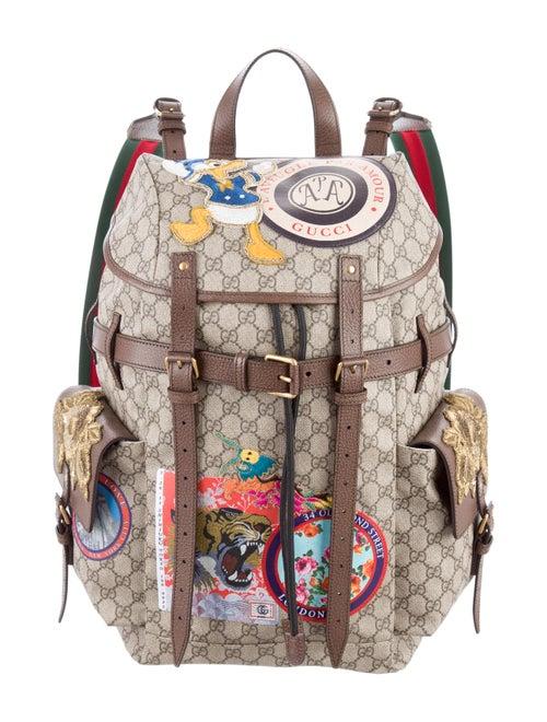 151e32cf116dd9 Gucci Soft GG Supreme Backpack - Bags - GUC155396 | The RealReal