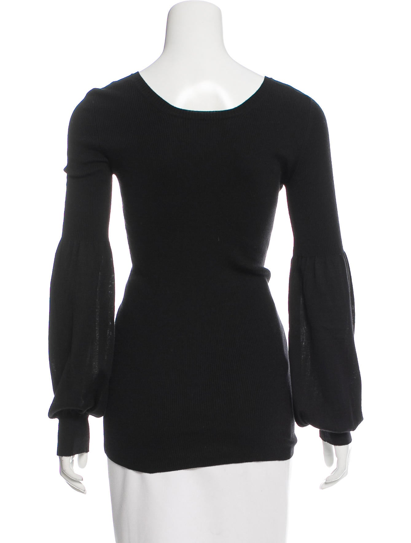 Gucci silk wool blend long sleeve top clothing for Best wool shirt jackets