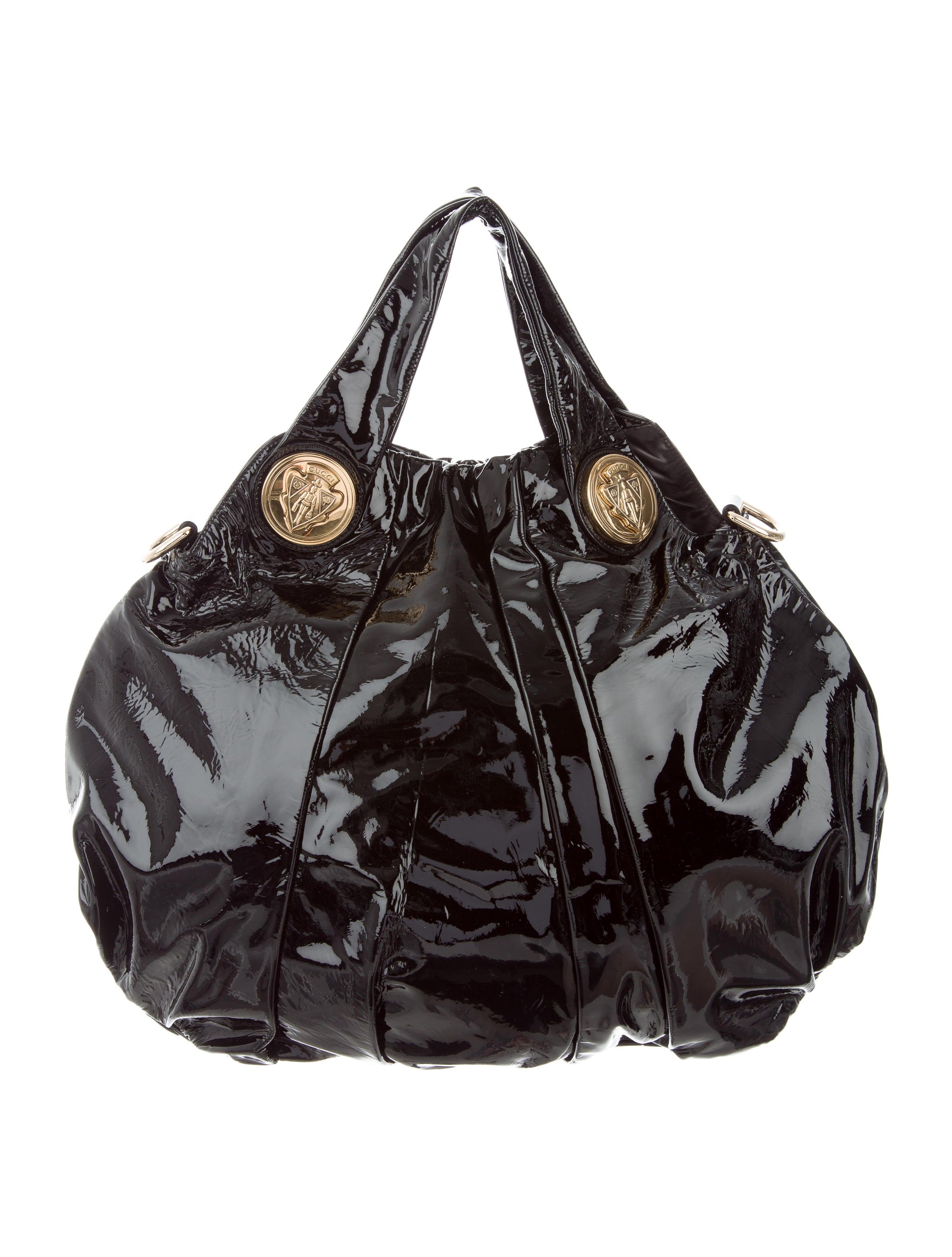 Gucci Patent Leather Hysteria Bag - Handbags - GUC155648  d10bd91e069a4