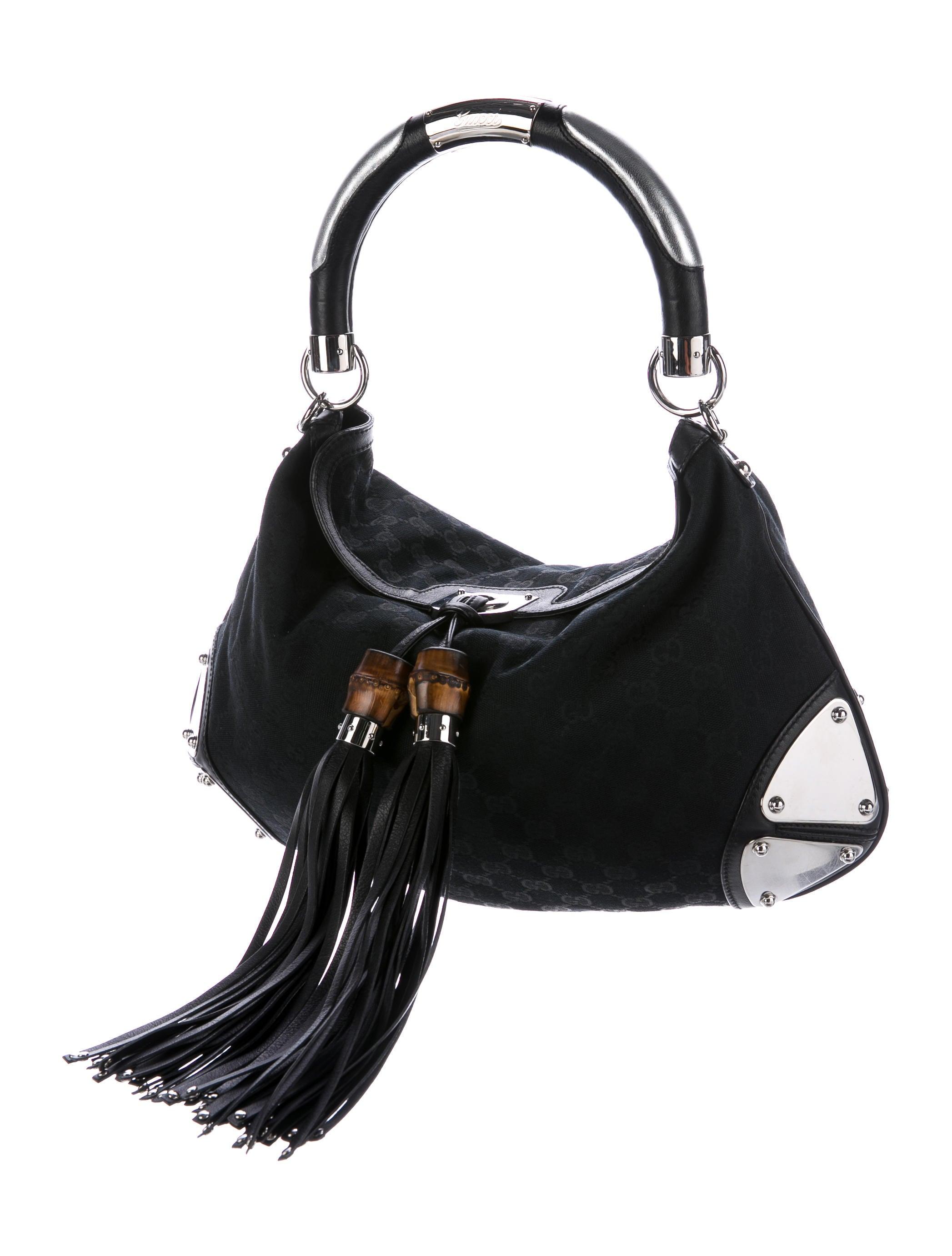 0cc9118d0dd677 Gucci Medium GG Canvas Babouska Indy - Handbags .